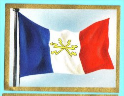 Die Welt In Bunten Flaggenbild - 1950 - Teil I - D.16 - Frankreich, France - Chromos