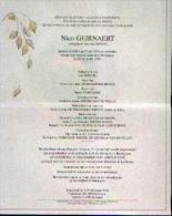 Faire-part Mortuaire GEIRNAERT, Nico (1976-1997) Geboren Te EEKLO Overleden Te MALDEGEM - Décès
