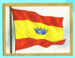 Die Welt In Bunten Flaggenbild - 1950 - Teil I - D.27 - Spanien, España, Spain - Chromos