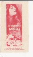 CARTE PARFUMEE ANCIENNE LES PARFUMERIES GABILLA PARIS - Perfume Cards