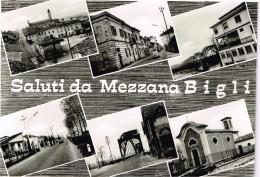 Pavia Saluti Da Mezzana Bigli Vedutine - Pavia