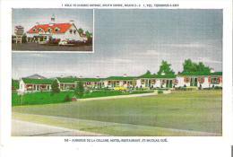 56 - Auberge De La Colline, Motel-Restaurant, St-Nicolas, Quebec 1 Mille De Pont Du Quebec - Quebec