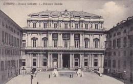 Italy Liguria Genova Piazza Umberto 1 Palazzo Ducale
