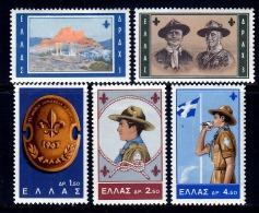 Greece 759-63  *  SCOUTING - Greece