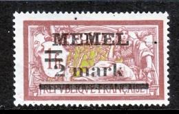 Memel  28  * - Unused Stamps