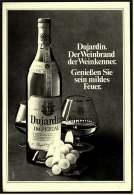 Reklame  -  Dujardin Weinbrand  -  Der Weinbrand Der Weinkenner  -  Werbeanzeige Von 1975 - Alkohol