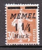 Memel  63  * - Memel (1920-1924)