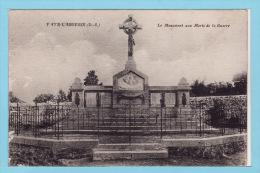 FAYE - L´ ABBESSE - Le Monument Aux Morts De La Guerre 14 - Autres Communes