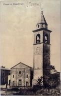 CARTOLINA -  CHIESA DI BAZZANO  PARMA    - VIAGGIATA NEL 1928 - Parma