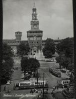 MILANO - Castello Sforzesco - Animata Con Tram - Milano (Milan)