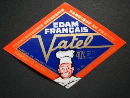 17721A - étiquette De Fromage - Edam - Fromagerie De Marans - Charente-Maritime 17AJ - Fromage