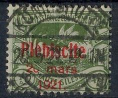 1921 Oberschlesien, Volksabstimmung Mit  Bedr. Aufdruck.,  MiNr. 35 Gest,    Zustand: I-II - Deutschland