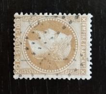 YT 28 A , Oblitéré GC 8 L'Absie (75) Ind. 7 . Très Bon état , Sans Amainci - 1849-1876: Klassieke Periode