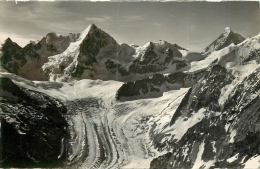 * (SUI) SUISSE  * -  CPM  CPSM  -   OBERGABELHORM, MT DURAND, CERVIN - VS Valais