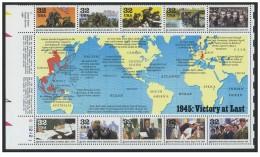USA - 1995 - Usato - WWII - Mi Block 37 - Stati Uniti