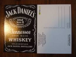 Jack Daniel´s Whisky Alcoolich Drink Carte Postale - Edition Freecards - Advertising