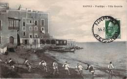 Italie - Napoli - Posillipo, Villa Quercia (pecheurs) - Napoli