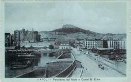 Italie - Napoli - Panorama Dal Molo E Castel S. Elmo - Napoli (Naples)