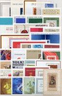 Motive Günstig 36 Verschiedene DDR Blocks ** 100€ Blocchi Foglietto Bf Unused M/s Topics Bloc Sheets Of East Germany GDR - Stamps