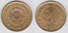 Yugoslavia - 20 Para - 1980 - KM 45 - VF+ - Jugoslawien