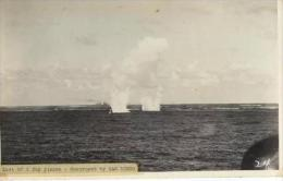 WWII  Battle Of Coral Sea Photo(Original), Last Of 2 Jap Planes - Destroyed By SAN DIEGO - War, Military