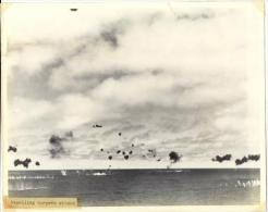 WWII  Battle Of Coral Sea Photo(Original), Repelling Torpedo Attack - War, Military