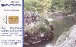 Romania, ROM-258, Landscape / Rivulet 2, 2 Scans. - Romania