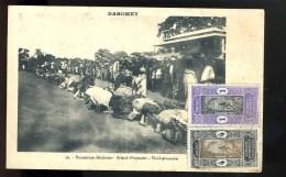 R BTPYS Dahomey, Procession Fétichiste - Dahomey