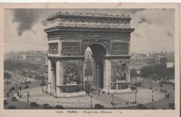 PARIS  PLACE DE L ETOILE - Squares