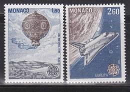 Monaco - 1983 - Europa - N° 1365/1366 - Neufs ** - MNH - 1983