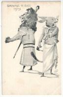 JARNACH - Carnaval De Nice 1903 - Le Lion Et Le Lièvre (fable D'Ésope) - Andere Illustrators