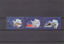 Russia 2006 Mi#1304-6 Antarctic   3v  MNH** - Programmi Di Ricerca