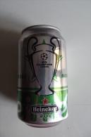 Alt360 Lattina Birra, Boite Biere, Can Beer, Lata Cerveza 33cl, Heineken Special Edition Uefa Champions League, Calcio - Cannettes