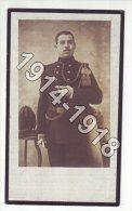 1914-1918 - IDDERGEM - DIEDAM - Doodsprentje † 1918 Hunninck Karel, Soldaat Karabinier-Cyclist - 1914-18
