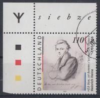 Bund Minr.1962 OER Mit Runen Gestempelt - BRD