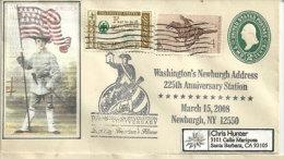The Newburgh Conspiracy,Jubilé De La Révolution Americaine (1783), Newburgh. New-York (Entier Postal) - United States