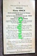Victor Hinck  Fabrique De Roumont + Oreux 1943 - Bertogne