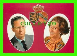 FAMILLES ROYALES - L.L.M.M. LE ROI BAUDOIN ET LA REINE FABIOLA - - Royal Families