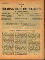 Dans « Touring  Club De Belgique» 01/05/1934 : « Le Château Béodal D'ECAUSSINNES-LALAING» - Bücher, Zeitschriften, Comics