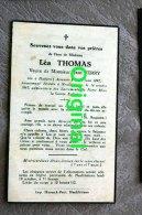 Léa Thomas Ferry  Habaru (assenois) 1892  + Neufchâteau 1942 - Belgique