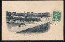 17 -- Remparts De L'Ile D' Aix --- Vue Panoramique - France