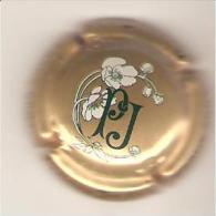 CAPSULE MUSELET CHAMPAGNE PERRIER JOUET (noir Et Blanc Sur Or) - Perrier Jouet