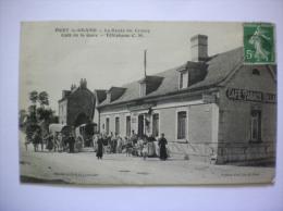 PORT LE GRAND-LA ROUTE DU CROTOY CAFE DE LA GARE-TELEPHONE C.M. - France