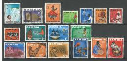 Zambie: 1/ 17 ** - Zambie (1965-...)