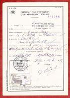 Formular, EF Eisenbahnpaketmarke, Gestempelt Charleroi Sud 1972 (40682) - Belgien