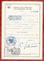 Formular, EF Eisenbahnpaketmarke, Gestempelt Charleroi Sud 1972 (40681) - Belgien