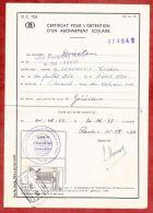 Formular, EF Eisenbahnpaketmarke, Gestempelt Charleroi Sud 1972 (40654) - Belgien