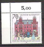 RFA - 1991 - YT N°1397 - Bureaux De Poste Du Passé - [7] Federal Republic