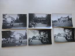 86 LA ROCHE-POSAY Lot De 6 Photos Format CP Maurice Couvrat, Vers 1925 ; Ref 18704 - Photographs