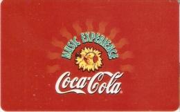 TARJETA DE BELGICA DE COCA-COLA  (COKE) BELGACOM - Publicidad